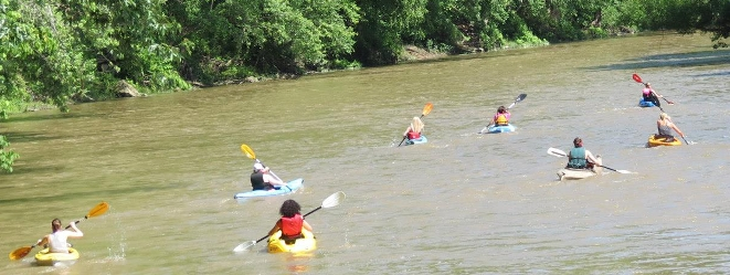 The Annual Guyandotte River Regatta